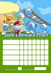 Personalised Smurfs Reward Chart (adding photo option available)